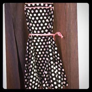 TORRID Strapless Polka Dot Dress